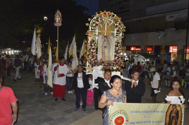 Restringirán el paso a peregrinaciones por  avenida Cuauhtémoc