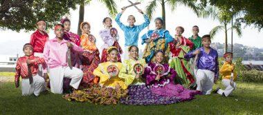 El VI aniversario del Ballet Folclórico Luces de Santa Lucía