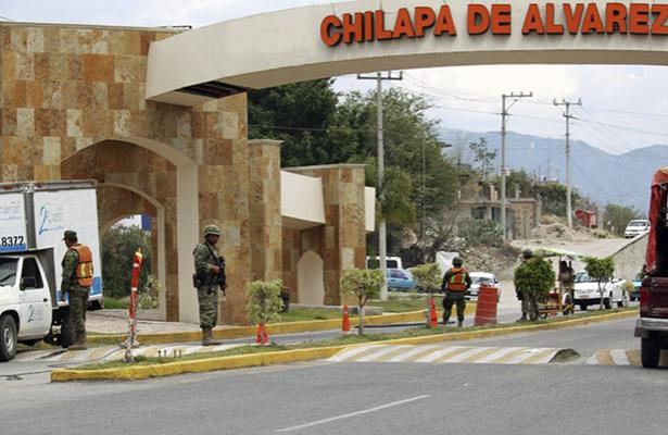 Refuerza Ejército seguridad en Chilapa