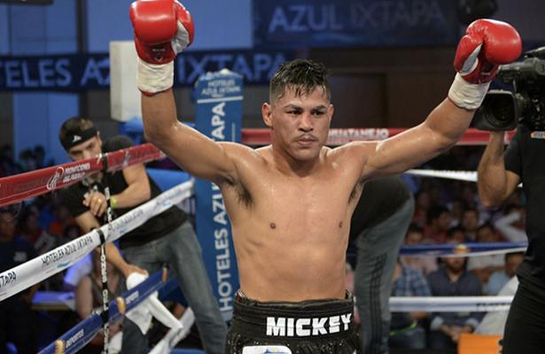"""Miguel """"Micky"""" Román listo para disputar la eliminatoria que lo ponga en una cartelera mundial."""