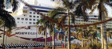Arriba a Acapulco el crucero Norwegian Jewel