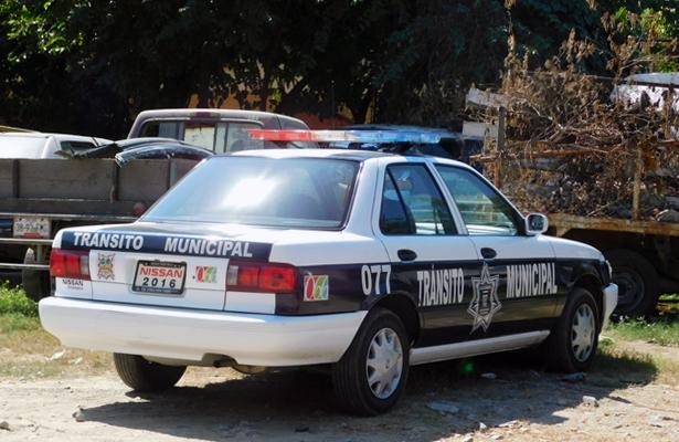 Por temor a agresiones, agentes de tránsito de Zihuatanejo no realizan operativos viales en las noches