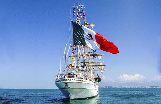 Próximo martes arriba al puerto de Acapulco el buque Cuauhtémoc