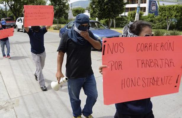 Demandan policías despedidos al Ayuntamiento de Chilpancingo