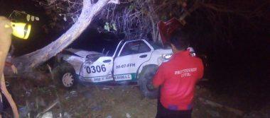 Cuantiosos daños materiales deja  accidente en la carretera Ometepec-Las Iguanas