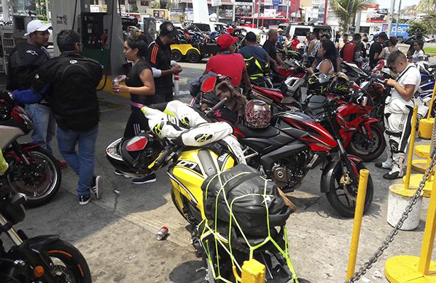 Sube la ocupación en Acapulco con el arribo de motociclistas