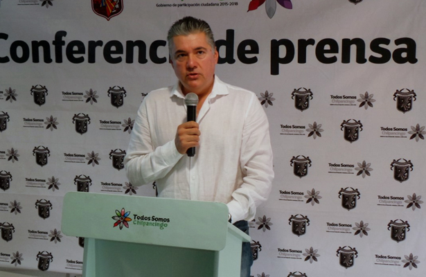 Oficial: alcalde de Chilpancingo solicita licencia por tiempo indefinido