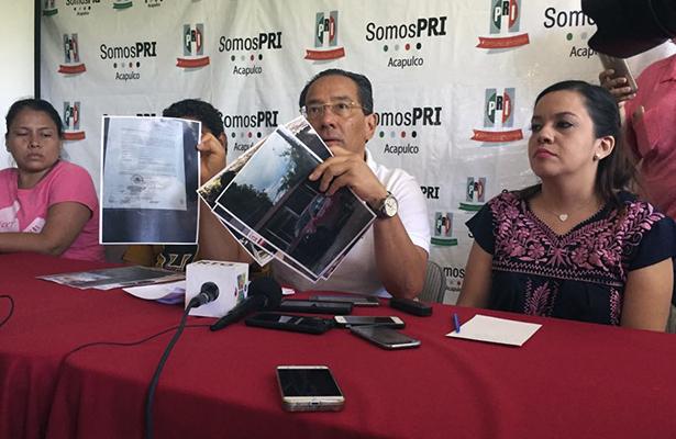 Denuncian dirigentes del PRI a funcionarios municipales de incitar a la violencia