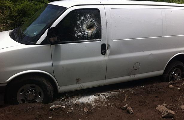 Cinco muertos en emboscada a personal de la PGR en La Gavia