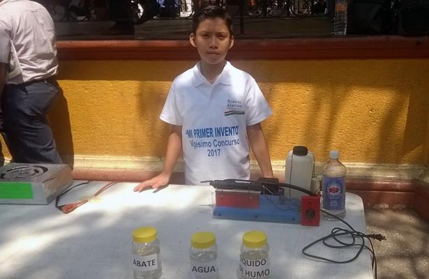 El menor ganó el concurso realizado en Chilpancingo.