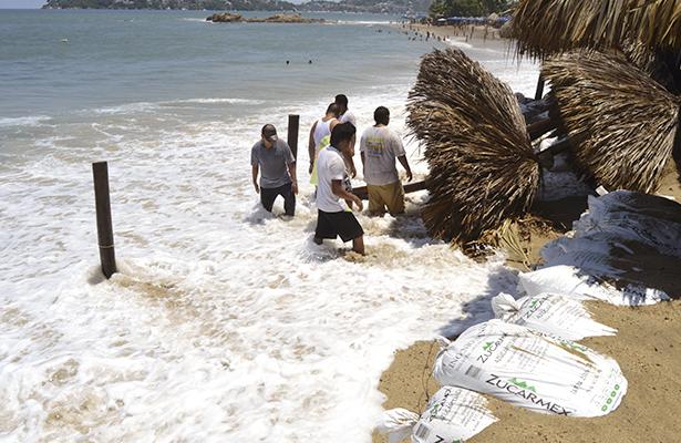 Emiten nueva alerta por alto oleaje y marejadas