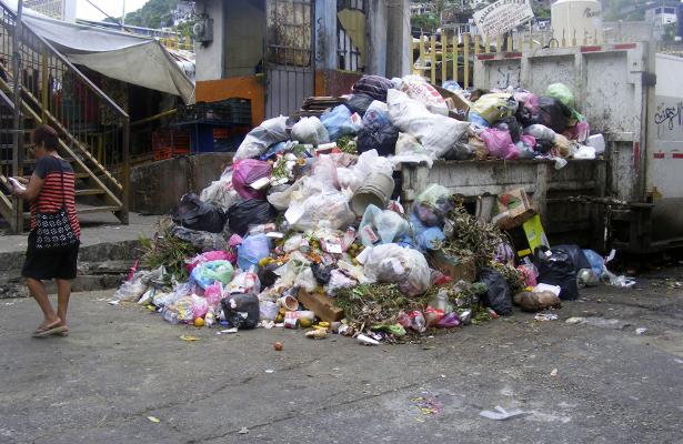 Se quejan del pésimo servicio  de recolección de basura