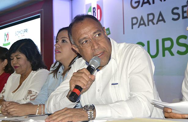 No habrá dedazos para elegir a los candidatos del PRI: Heriberto Huicochea