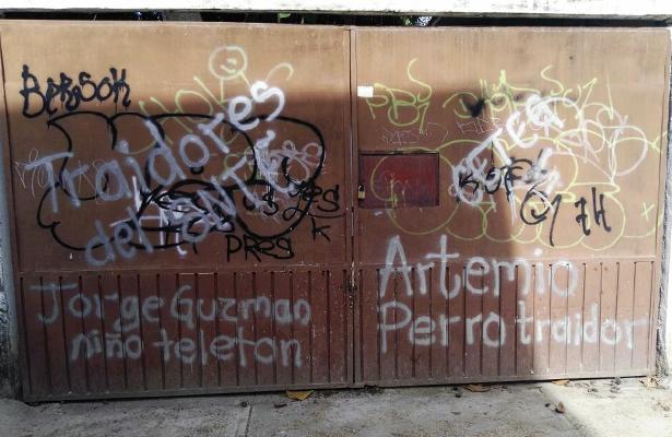 Cierran cetegistas oficina educativa en Ciudad Renacimiento