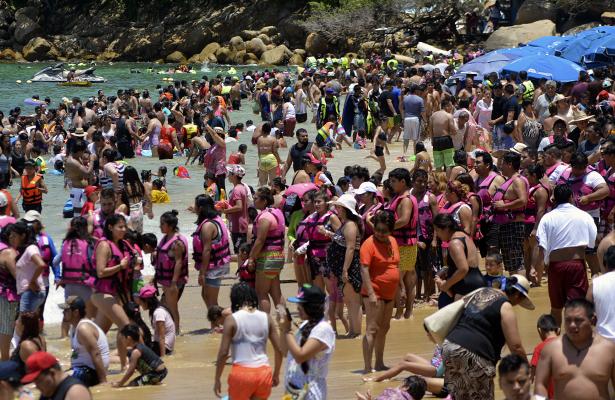 Acapulco con 85 por ciento de ocupación