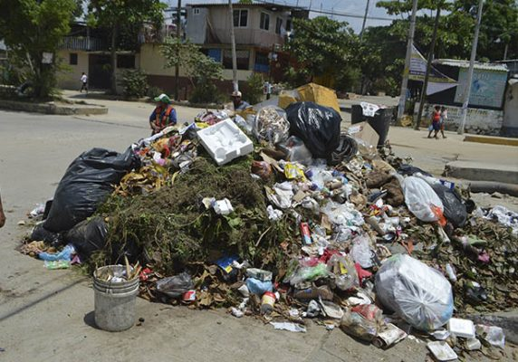 Más de mil toneladas de basura recolectadas por temporada vacacional