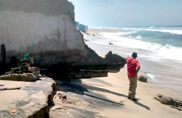 Impacta mar de fondo en Acapulco y Costa Chica
