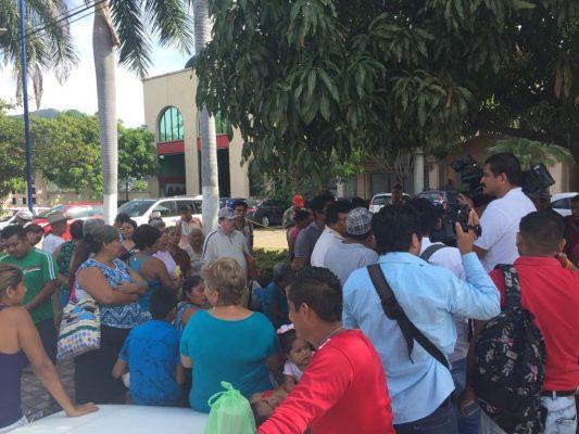Protestan en Protur; exigen presentar con vida a líderes desaparecidos