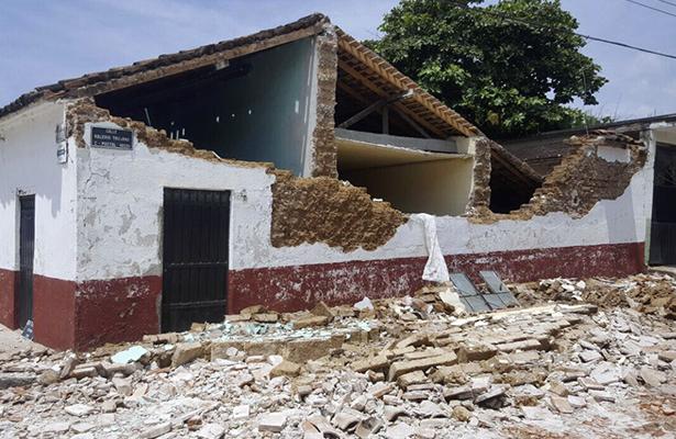 Tristeza, dolor y profundo pesar; estragos del sismo en municipios de Guerrero