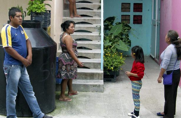 Temen se desplomen viviendas en el Nuevo Mirador
