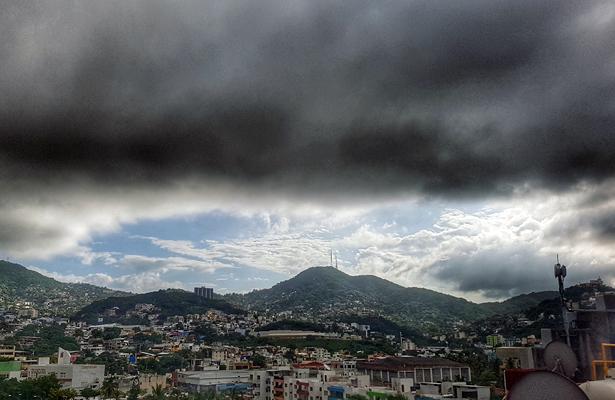 Continuarán las lluvias en gran parte de Guerrero