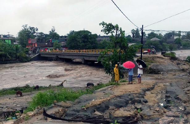 """Temen pobladores en San Marcos sufrir una nueva inundación por """"Ramón"""""""