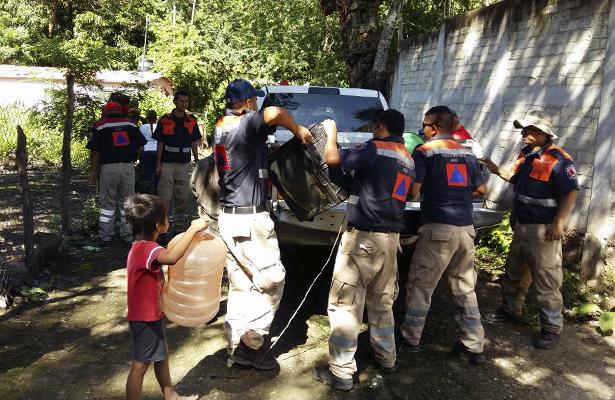 Confirma PC 436 viviendas inundadas y más de 200 personas evacuadas