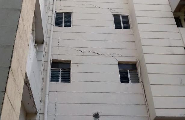 Crisis nerviosas y daños menores en Chilpancingo tras el sismo de 7.1 grados