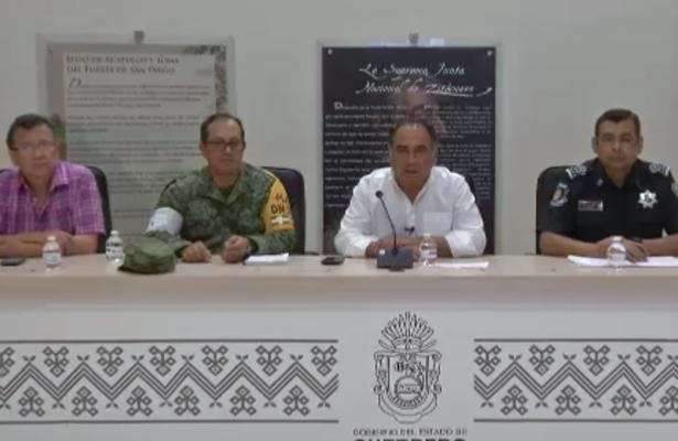 Sismo de 7.1 provoca daños materiales en Guerrero: Astudillo