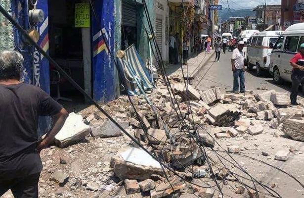 Confirma PC la muerte de una persona en Iguala por sismo de 7.1 grados