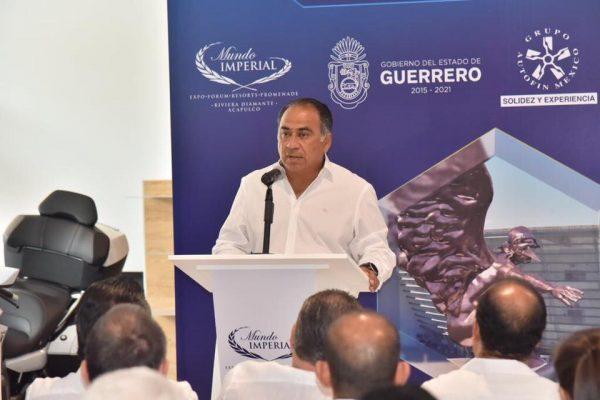 Lo más importante es atender la emergencia, dice Astudillo a partidos