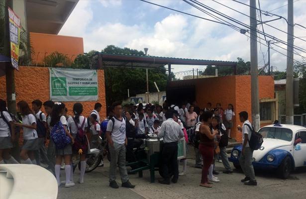 Suspenden clases para este miércoles en escuelas de todos los niveles educativos en Guerrero