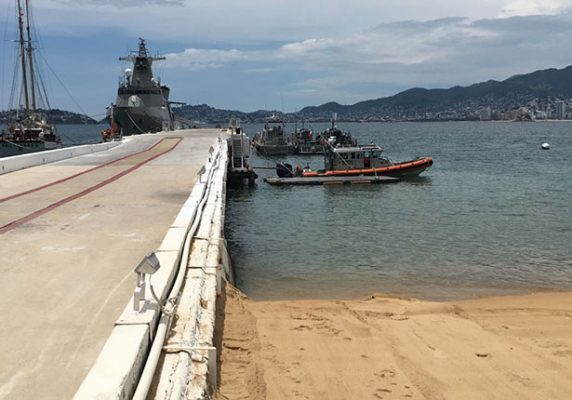 Se une la Marina a la búsqueda de la aeronave de la Escuela México