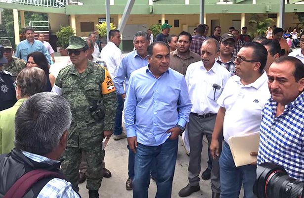 """Visitará Peña Nieto a Damnificados por """"Max"""" en Guerrero, confirma HAF"""