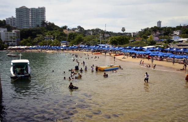 Alcanza Acapulco ocupación del 51.4%