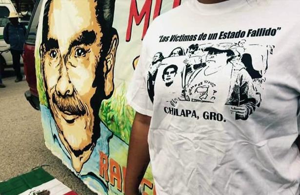 Marchan en Chilapa por homicidio de Ranferi Hernández Acevedo
