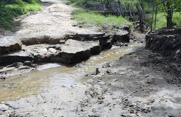 Más de 20 días incomunicados en la comunidad Cañada del Arroz