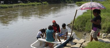 Colonias de la periferia están incomunicadas por falta de puente