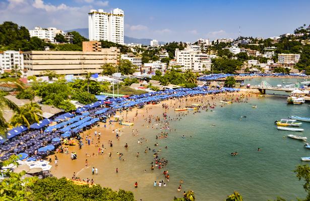 Acapulco cierra fin de semana con 72.6% de ocupación hotelera