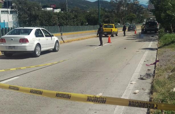 Muere menor de edad atropellada en Chilpancingo