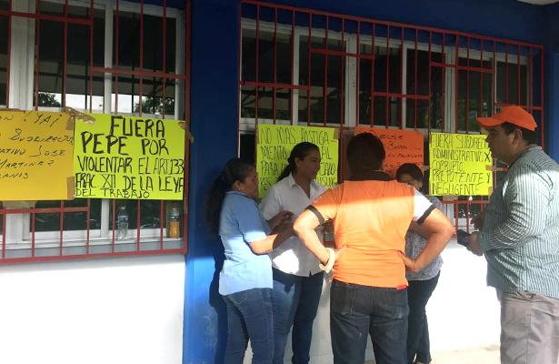 Protestan nuevamente en la ECA