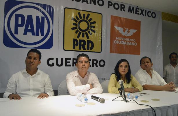 Forman PRD, PAN y MC el Frente Ciudadano por México