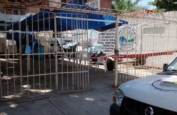 Por segunda ocasión, roban oficinas de la Promotora de Playas en Zihuatanejo