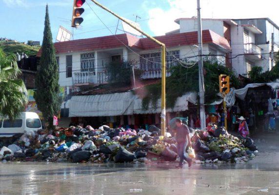 Se agrava problema de basura en Chilpancingo