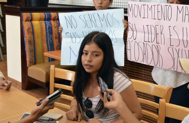 Jóvenes abandonan protesta del grupo MAE por presunto acoso sexual