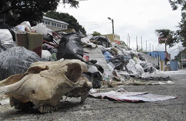 Por problema de basura en Chilpancingo, habilitan tiradero en cercanías de Xalapa