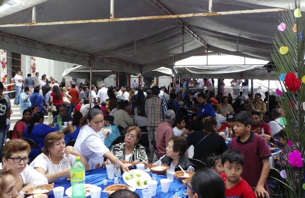 Celebran a San Francisco en Chilpancingo