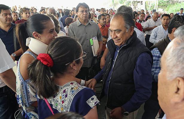 Llama Astudillo a la unidad y evitar la confrontación en Taxco