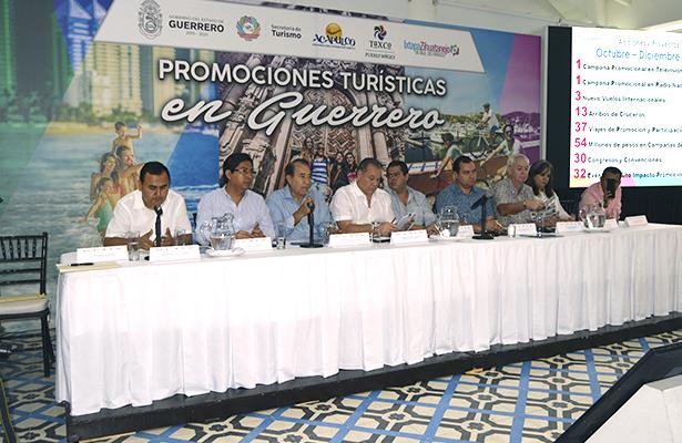 Impulsan la 'Promoción Turística de Guerrero'