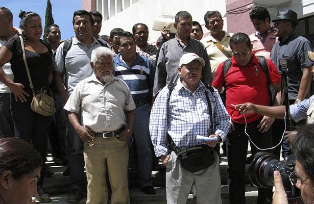 Policías piden acelerar a queja interpuesta en la CDHEG